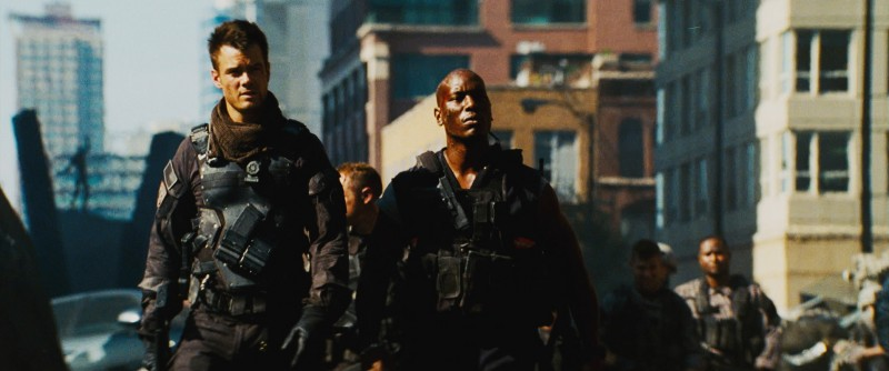 Josh Duhamel, Tyrese Gibson ve filmu Transformers 3 / Transformers: Dark of the Moon
