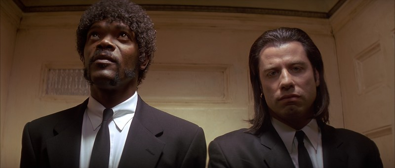 Samuel L. Jackson, John Travolta ve filmu Pulp Fiction: Historky z podsvětí / Pulp Fiction