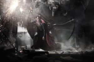 Henry Cavill ve filmu <b>Muž z oceli</b>