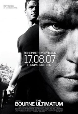 Plakát filmu Bourneovo ultimátum / The Bourne Ultimatum