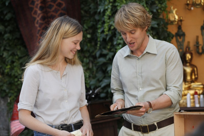 Owen Wilson, Léa Seydoux ve filmu Půlnoc v Paříži / Midnight in Paris