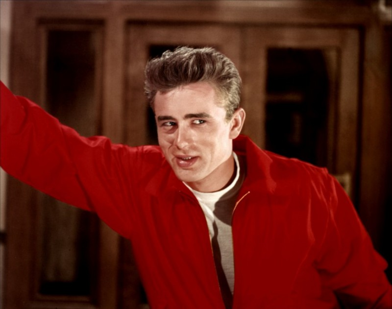 James Dean ve filmu Rebel bez příčiny / Rebel Without a Cause