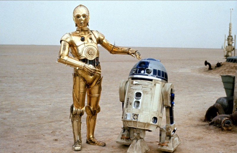 Anthony Daniels ve filmu Star Wars: Epizoda IV - Nová naděje / Star Wars