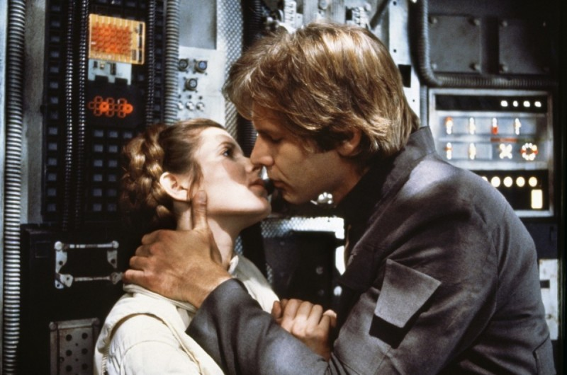 Carrie Fisher, Harrison Ford ve filmu Star Wars: Epizoda V - Impérium vrací úder / Star Wars: Episode V - The Empire Strikes Back
