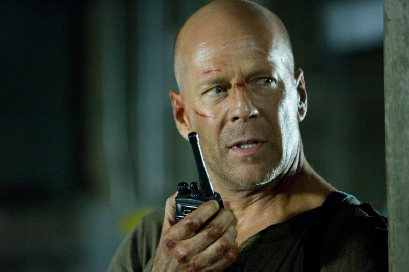 Bruce Willis ve filmu Smrtonosná past 4.0 / Live Free or Die Hard