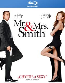 BD obal filmu Mr. & Mrs. Smith
