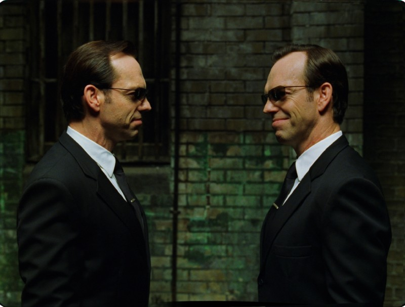Hugo Weaving ve filmu Matrix Reloaded / The Matrix Reloaded