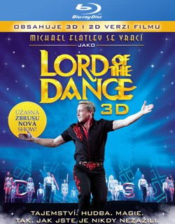 BD obal filmu Lord of the Dance