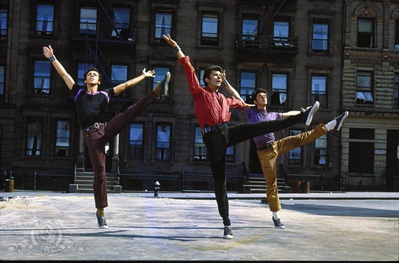 George Chakiris ve filmu West Side Story / West Side Story
