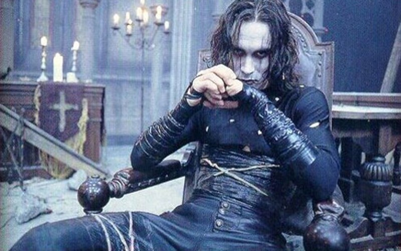 Brandon Lee ve filmu Vrána / The Crow