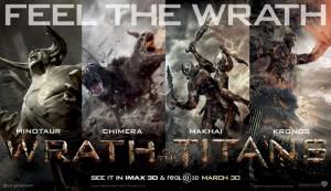 Banner k filmu <b>Hněv Titánů</b>
