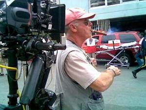Tony Scott při natáčení filmu <b>Déjà Vu</b>