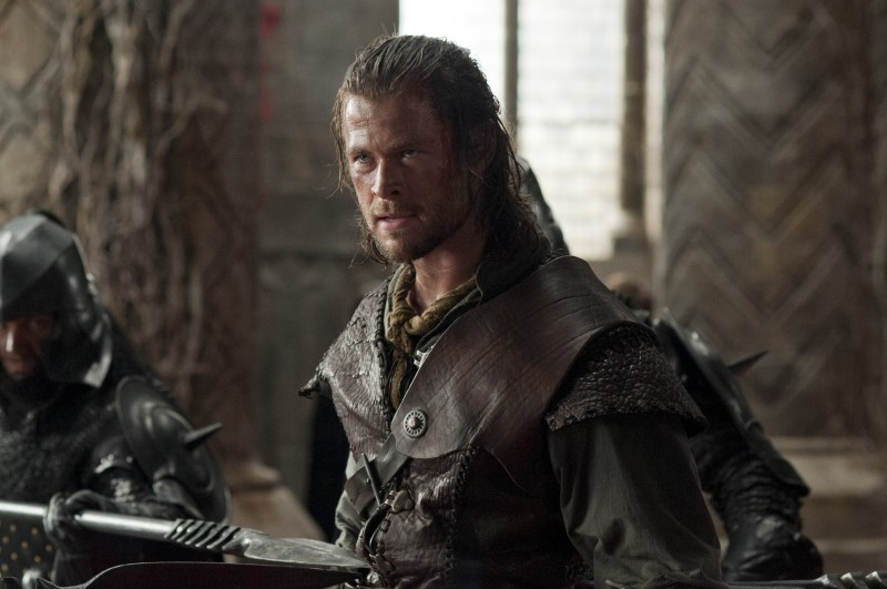 Chris Hemsworth ve filmu Sněhurka a lovec / Snow White and the Huntsman