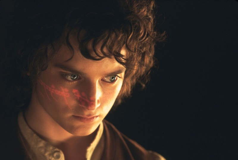 Elijah Wood ve filmu Pán prstenů: Společenstvo prstenu / The Lord of the Rings: The Fellowship of the Ring