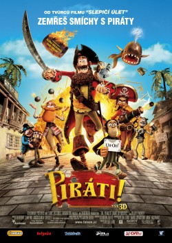 Plakát filmu Piráti! / The Pirates! In an Adventure with Scientists!