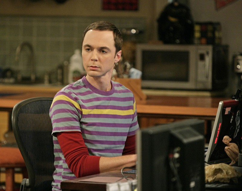 Jim Parsons ve filmu Teorie velkého třesku / The Big Bang Theory