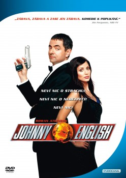 DVD obal filmu Johnny English