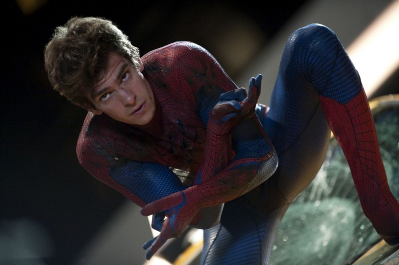 Andrew Garfield ve filmu The Amazing Spider-Man / The Amazing Spider-Man