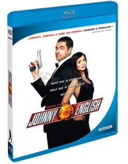 BD obal filmu Johnny English