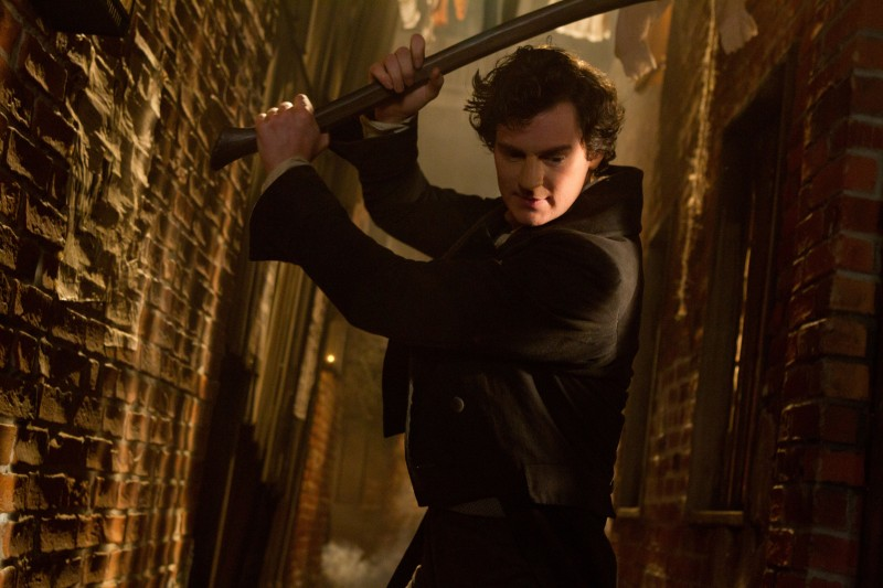 Benjamin Walker ve filmu Abraham Lincoln: Lovec upírů / Abraham Lincoln: Vampire Hunter