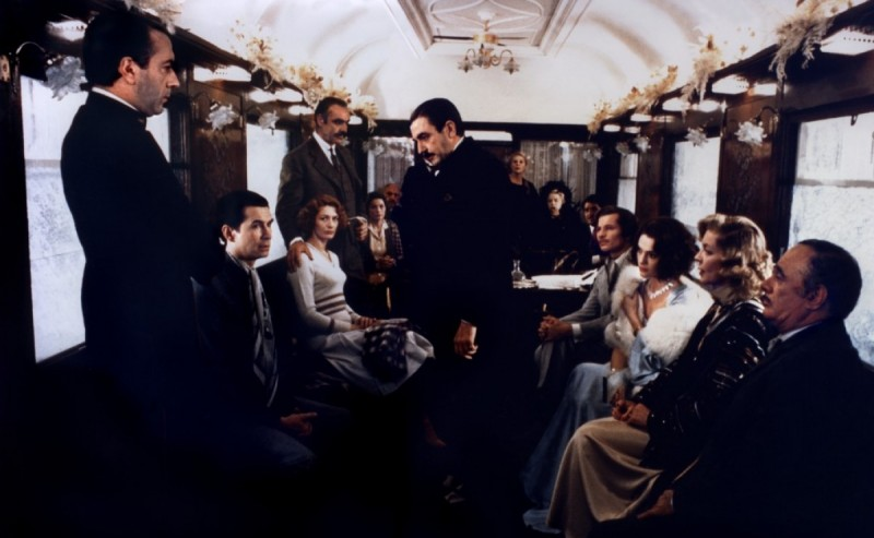 Albert Finney ve filmu Vražda v Orient-Expressu / Murder on the Orient Express