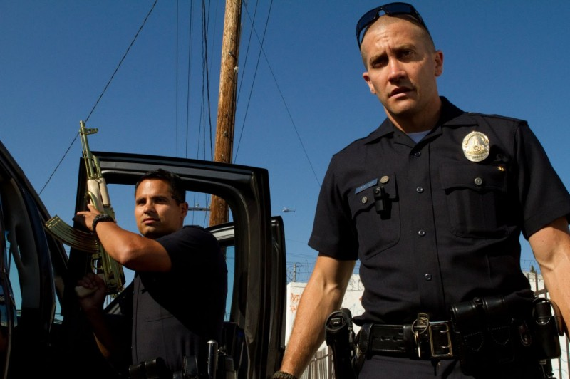Michael Peña, Jake Gyllenhaal ve filmu Patrola / End of Watch