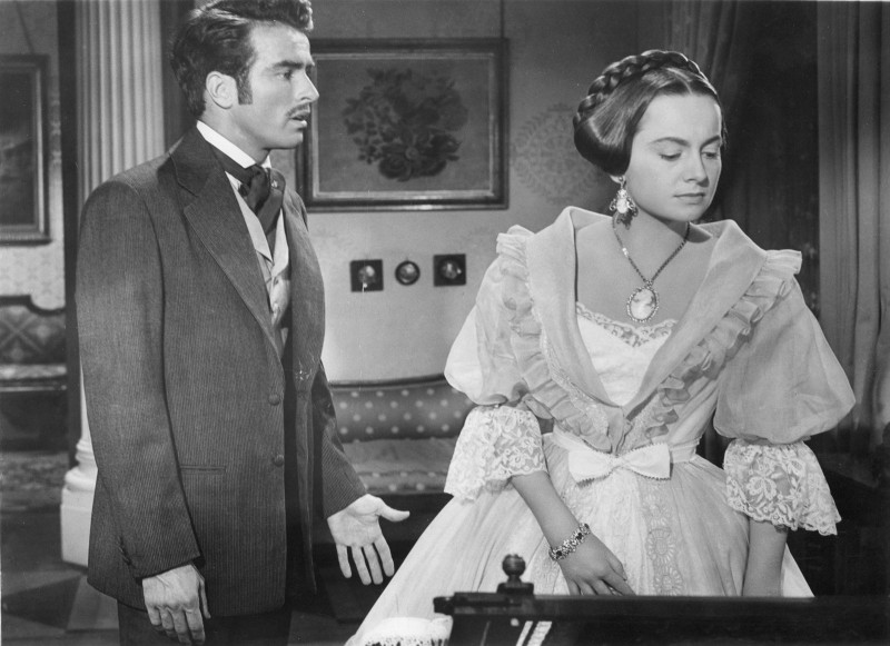 Montgomery Clift, Olivia de Havilland ve filmu Dědička / The Heiress