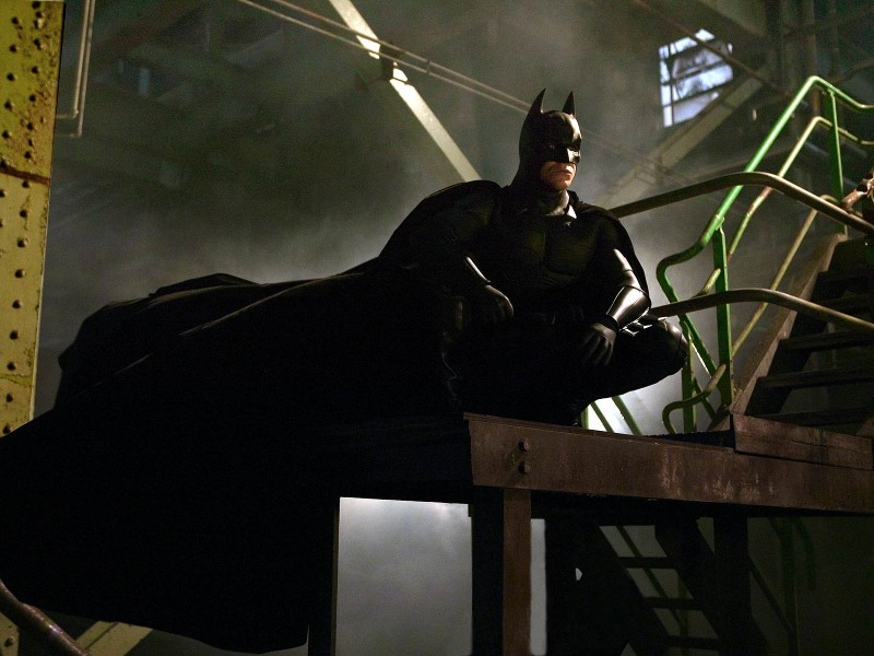 Christian Bale ve filmu Batman začíná / Batman Begins
