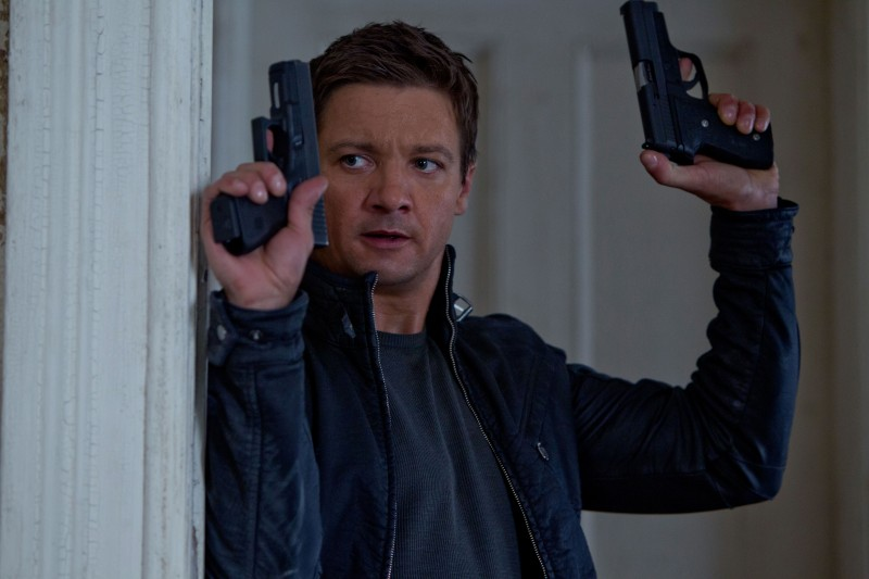 Jeremy Renner ve filmu Bourneův odkaz / The Bourne Legacy