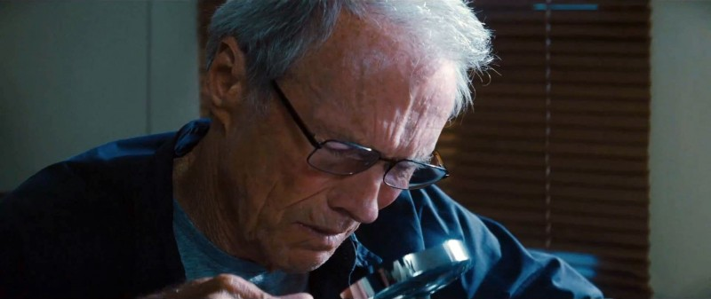 Clint Eastwood ve filmu Zpátky ve hře / Trouble with the Curve
