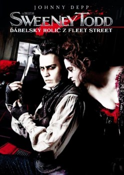 DVD obal filmu Sweeney Todd: Ďábelský holič z Fleet Street / Sweeney Todd: The Demon Barber of Fleet Street