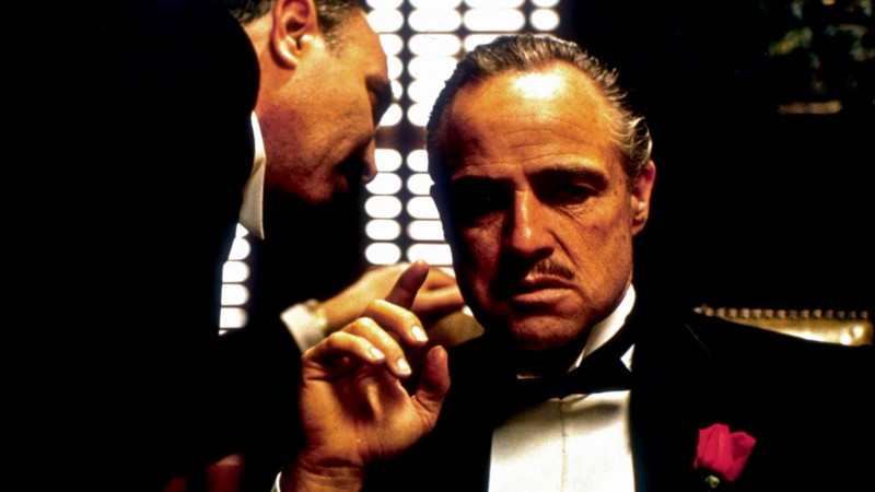 Marlon Brando ve filmu Kmotr / The Godfather