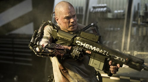 Matt Damon ve filmu Elysium