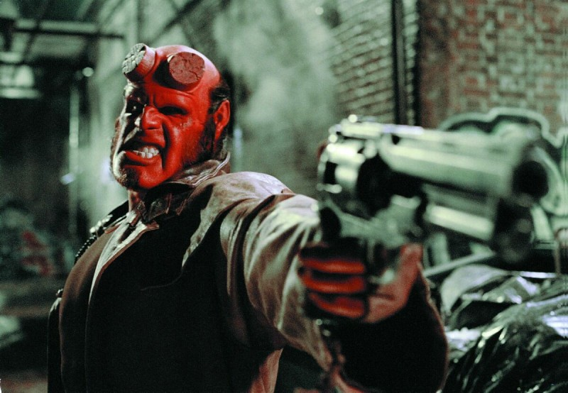Ron Perlman ve filmu  / Hellboy