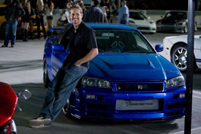 Paul Walker ve filmu Rychle a zběsile / The Fast and the Furious