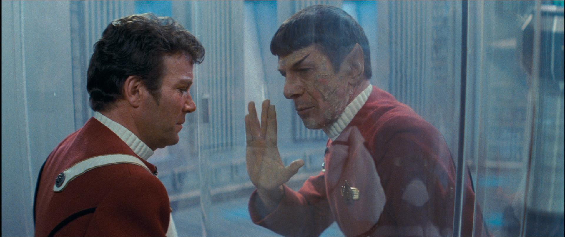 Leonard Nimoy, William Shatner ve filmu Star Trek II: Khanův hněv / Star Trek: The Wrath of Khan