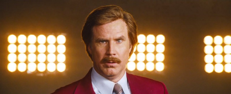 Will Ferrell ve filmu Zprávař 2 - Legenda pokračuje / Anchorman 2: The Legend Continues