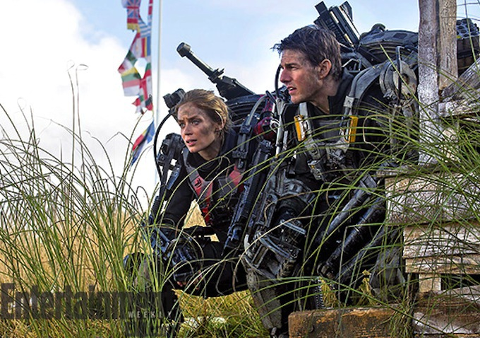 Emily Blunt, Tom Cruise ve filmu Na hraně zítřka / Edge of Tomorrow
