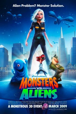 Monsters vs Aliens - 2009