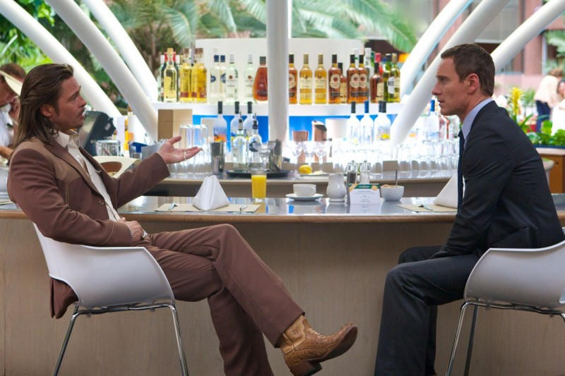 Brad Pitt, Michael Fassbender ve filmu Konzultant / The Counselor
