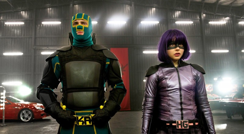 Aaron Johnson, Chloë Moretz ve filmu Kick-Ass 2 / Kick-Ass 2