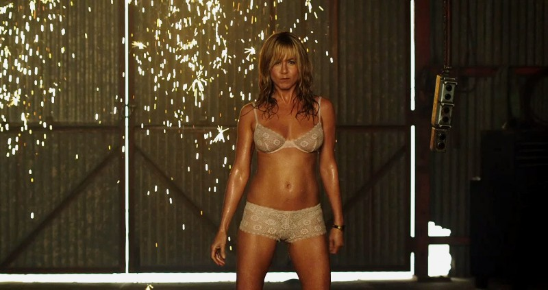 Jennifer Aniston ve filmu Millerovi na tripu / We're the Millers