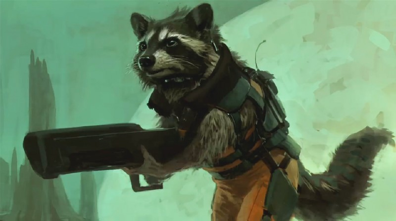 Concept art filmu  / Guardians of the Galaxy