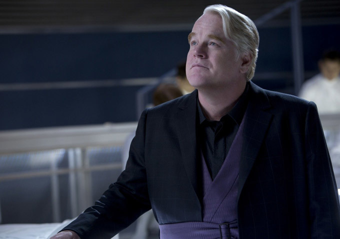 Philip Seymour Hoffman ve filmu Hunger Games: Vražedná pomsta / The Hunger Games: Catching Fire