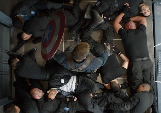 Fotografie z filmu Captain America: Návrat prvního Avengera / Captain America: The Winter Soldier