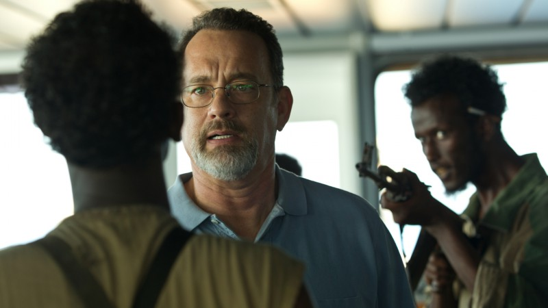 Tom Hanks, Barkhad Abdi ve filmu Kapitán Phillips / Captain Phillips