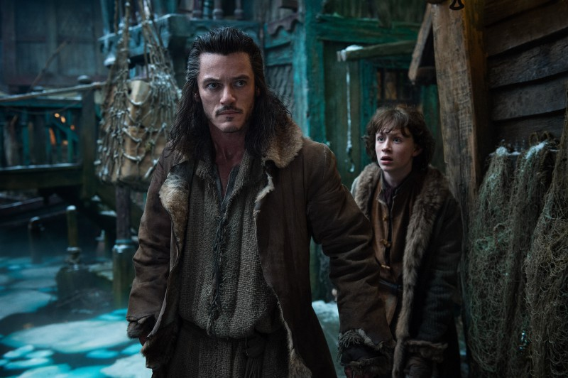 Luke Evans ve filmu Hobit: Šmakova dračí poušť / The Hobbit: The Desolation of Smaug