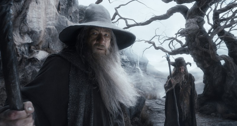 Ian McKellen ve filmu Hobit: Šmakova dračí poušť / The Hobbit: The Desolation of Smaug