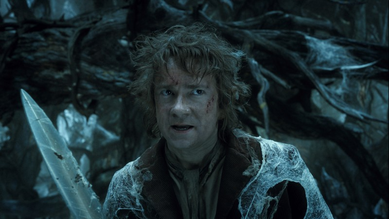 Martin Freeman ve filmu Hobit: Šmakova dračí poušť / The Hobbit: The Desolation of Smaug