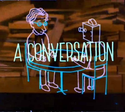 Fotografie z filmu Je muž, který je vysoký, šťastný? / Is the Man Who Is Tall Happy?: An Animated Conversation with Noam Chomsky